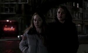 S03E13-Paige Liz Berlin streets