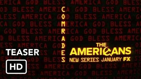 """The Americans (FX) Teaser 1 """"Rise Comrades"""""""