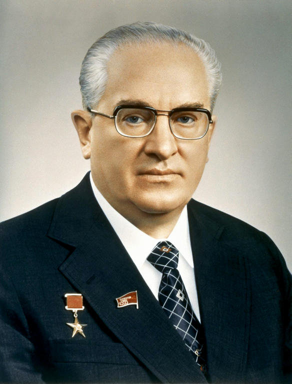 Image result for yuri andropov