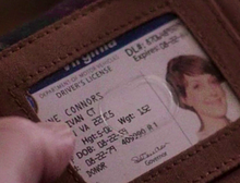 Leanne Connors Drivers License