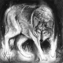 Spirit Wolf by Corza334