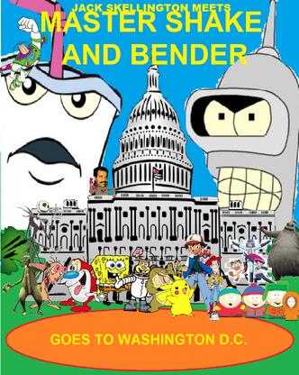 Jack Skellington Meets Master Shake And Bender Movie