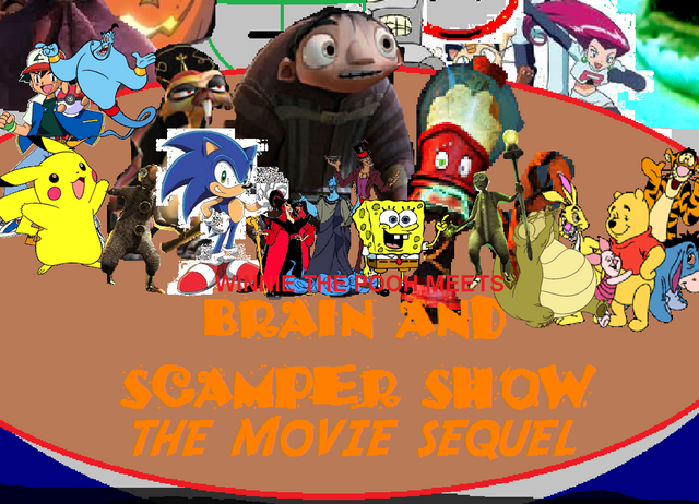 File:Winnie the Pooh Meets Brain And Scamper Show The Movie Sequel.png