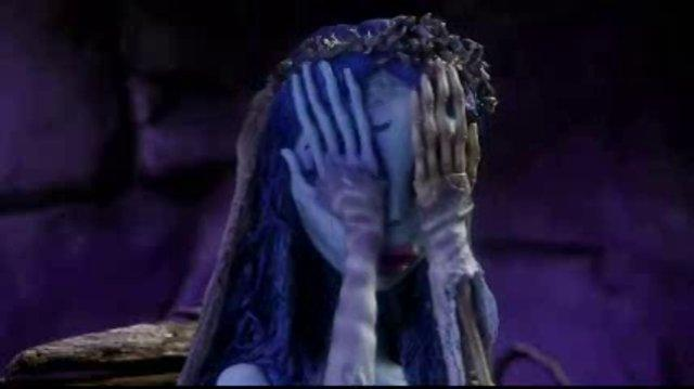 Corpse Bride Tells The Queen of Hearts To Shut Up