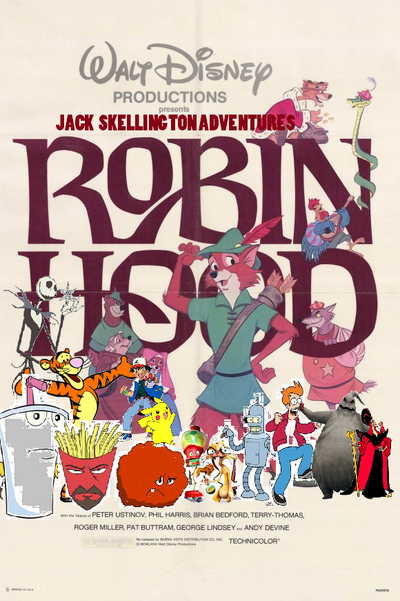 Jack Skellington Adventures of Robin Hood