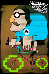 Aquabats poster drewwise