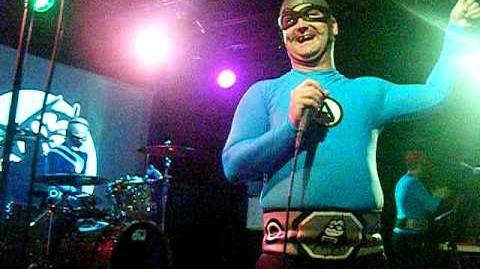 The Aquabats-Pool party & Awesome Forces