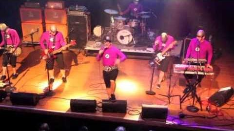 "The Aquabats live in San Diego 2-25-11 ""Hey Homies"""
