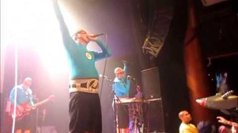 The Aquabats! Live in San Diego 7 18 2013 - Part 17 - Luck Dragon Lady!
