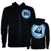 Blue Logo Batty Hoodie