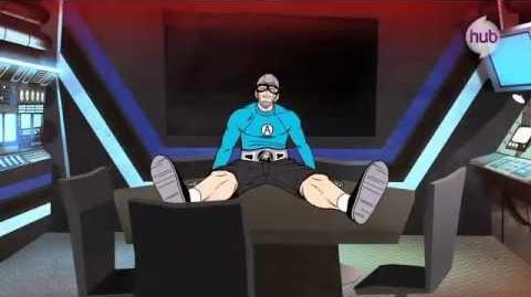 """The Aquabats! Super Show! - """"Floating Eye of Death!"""" Animated Sequence"""