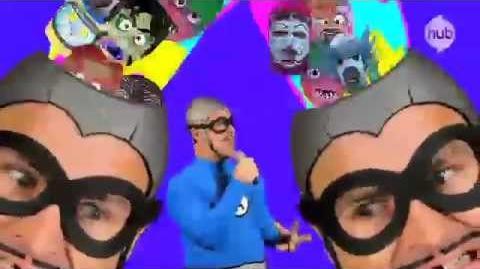 """The Aquabats! Super Show! """"Cowboy Android!"""" (Song Clip) - The Hub"""