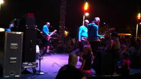 Aquabats Live - 8 30 12 - Stuck in a Movie!