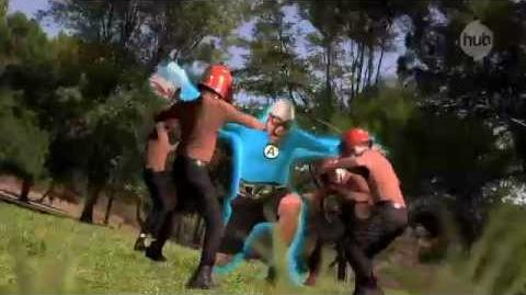 "The Aquabats! Super Show! ""Man Ant"" (Promo) - The Hub"