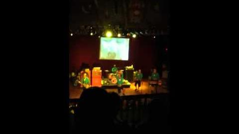 Aquabats play in Cleveland; we win