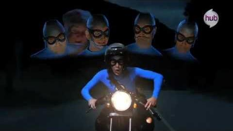 "The Aquabats! Super Show! ""EagleClaw"" (Clip 2) - The Hub"