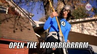 "The Aquabats! Super Show! ""Bad Apple"" (promo) - Hub Network"