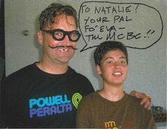 Signed by Bat Commander