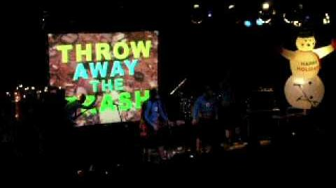 The Aquabats Throw away the trash!