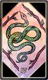 Tarot 4 wands