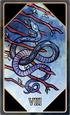 Tarot 8 wands
