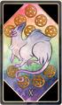 Tarot 10 pentacles