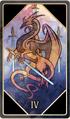 Tarot 4 swords