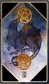 Tarot 2 pentacles