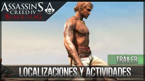 Assassin's Creed 4 Black Flag - Tráiler de las Localizaciones y Actividades - Demo