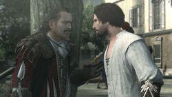 Ezio y Mario asedio