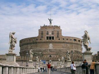 Castel-santangelo-from-across-ponte-santangelo 8519410 l