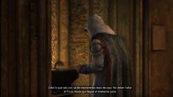 Altaïr abandona el Fruto