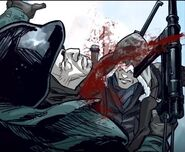 Eddie mata a otro soldado