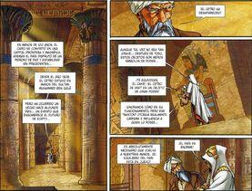 El anciano explica lo sucedido a El Cakr