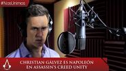 Assassin´s Creed Unity - Christian Gálvez interpreta a Napoleón Bonaparte