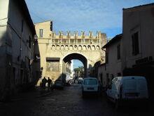 La Puerta Septimiana en la actualidad