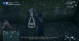 Arno encontrándose otra vez con el Chevalier