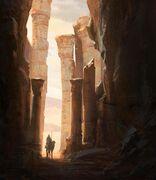 Exploring Ruins por Raphael Lacoste