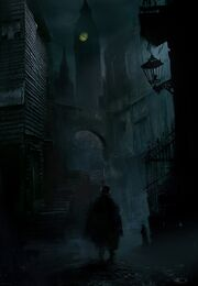 ACS Jack the Ripper wandering Whitechapel - Concept Art