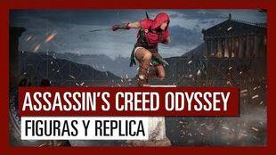 Assassin's Creed Odyssey - Tráiler de lanzamiento de las figuras y la réplica