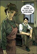 Maria Gorm recordando a su marido