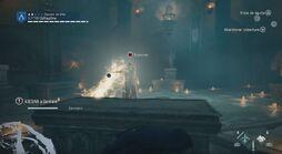 Germain usando la Espada contra Arno