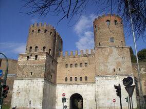 Celio - Porta san Sebastiano 1973