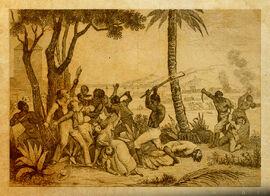 Ceremonia en Bois Caiman