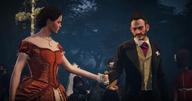 Starrick invita a Evie a bailar
