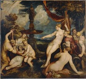 Diana y Calisto