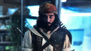 Yusuf Tazim en la película