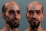Assassin's creed face por David Giraud