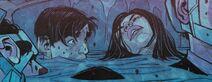 Monima y Jot a punto de morir