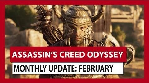 ASSASSIN'S CREED ODYSSEY MONTHLY UPDATE FEBRUARY